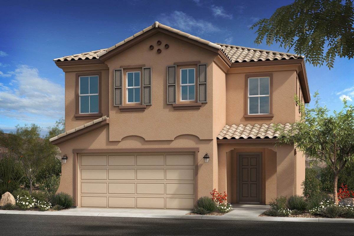 New Homes in Goodyear, AZ - Plan 1932 Elevation A