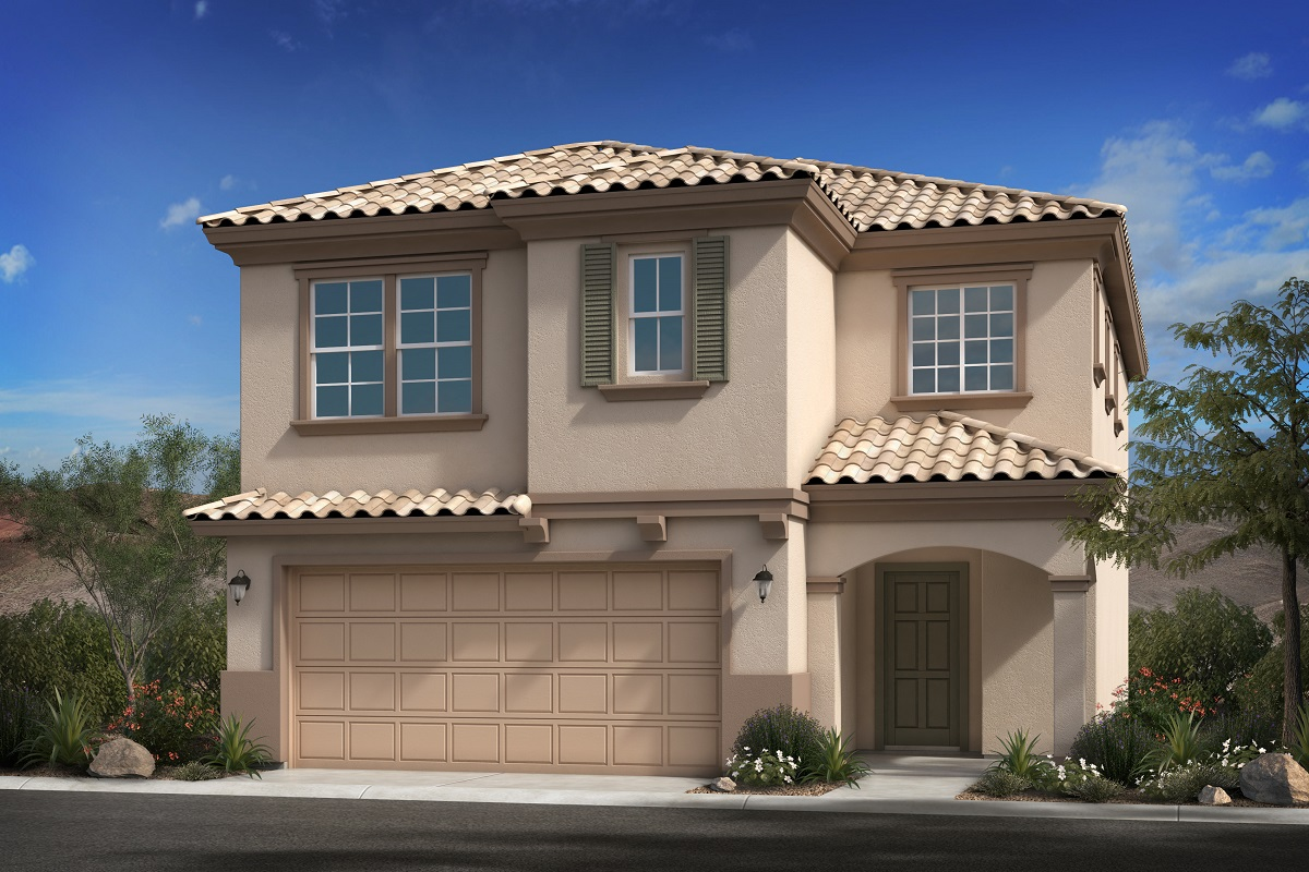 New Homes in Goodyear, AZ - Plan 1932 Elevation B