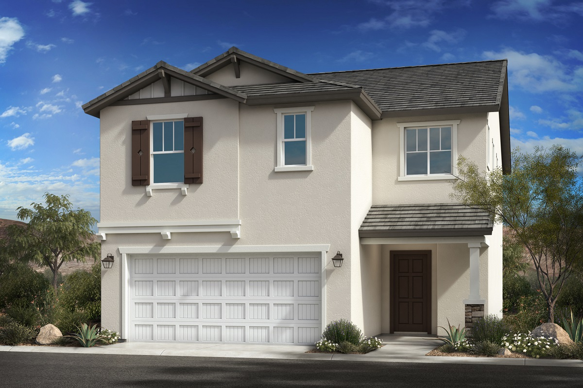 New Homes in Goodyear, AZ - La Ventilla III Plan 1932 Elevation D