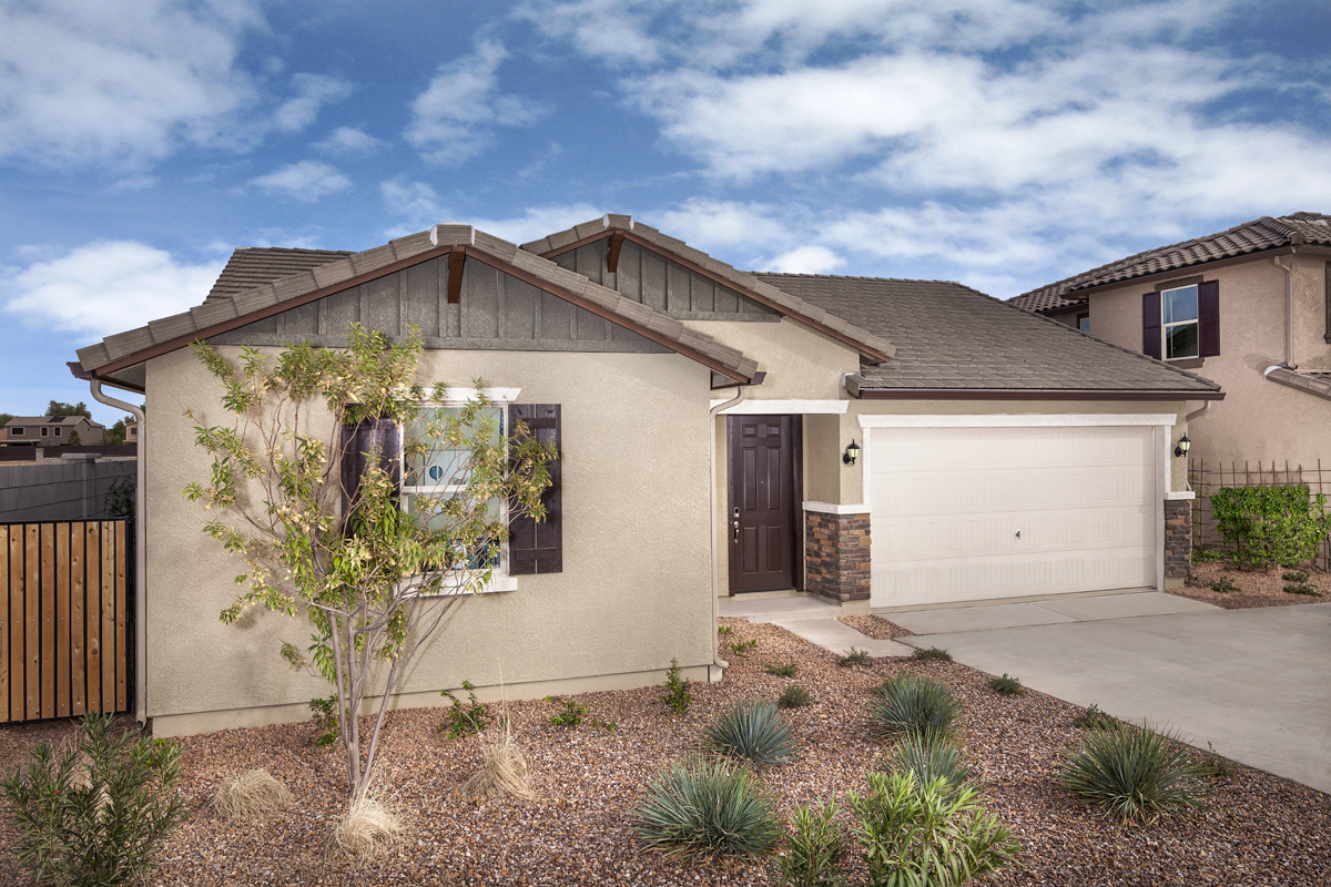 New Homes in Goodyear, AZ - Plan 1551 Modeled