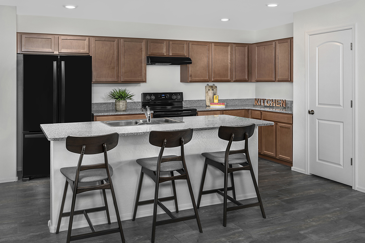 New Homes in Gilbert, AZ - Layton Lakes Plan 1831 Kitchen