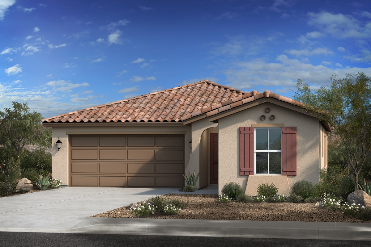 New Homes in Gilbert, AZ - Layton Lakes Plan 1700 Elevation A