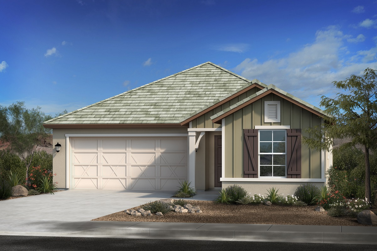 New Homes in Gilbert, AZ - Layton Lakes Plan 1700 Elevation C
