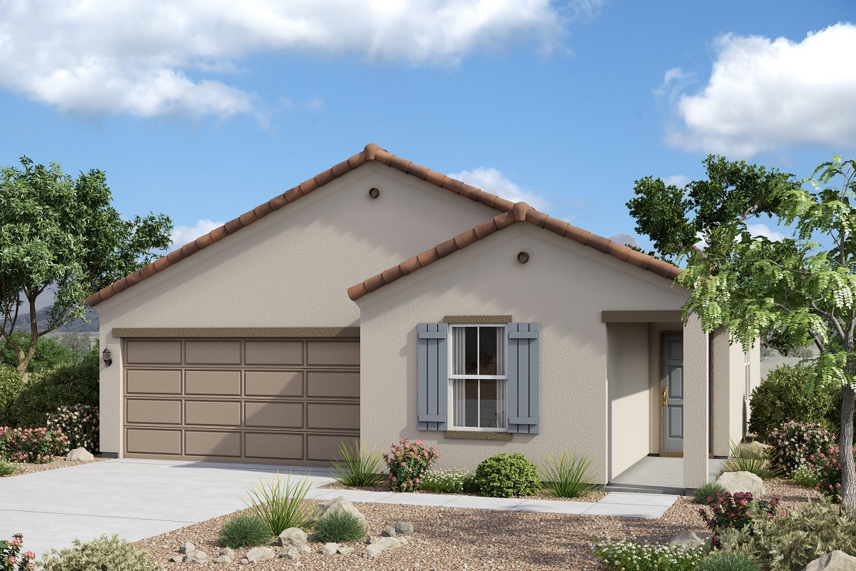 New Homes in Glendale, AZ - Marbella Ranch Plan 1591 Spanish 'A'
