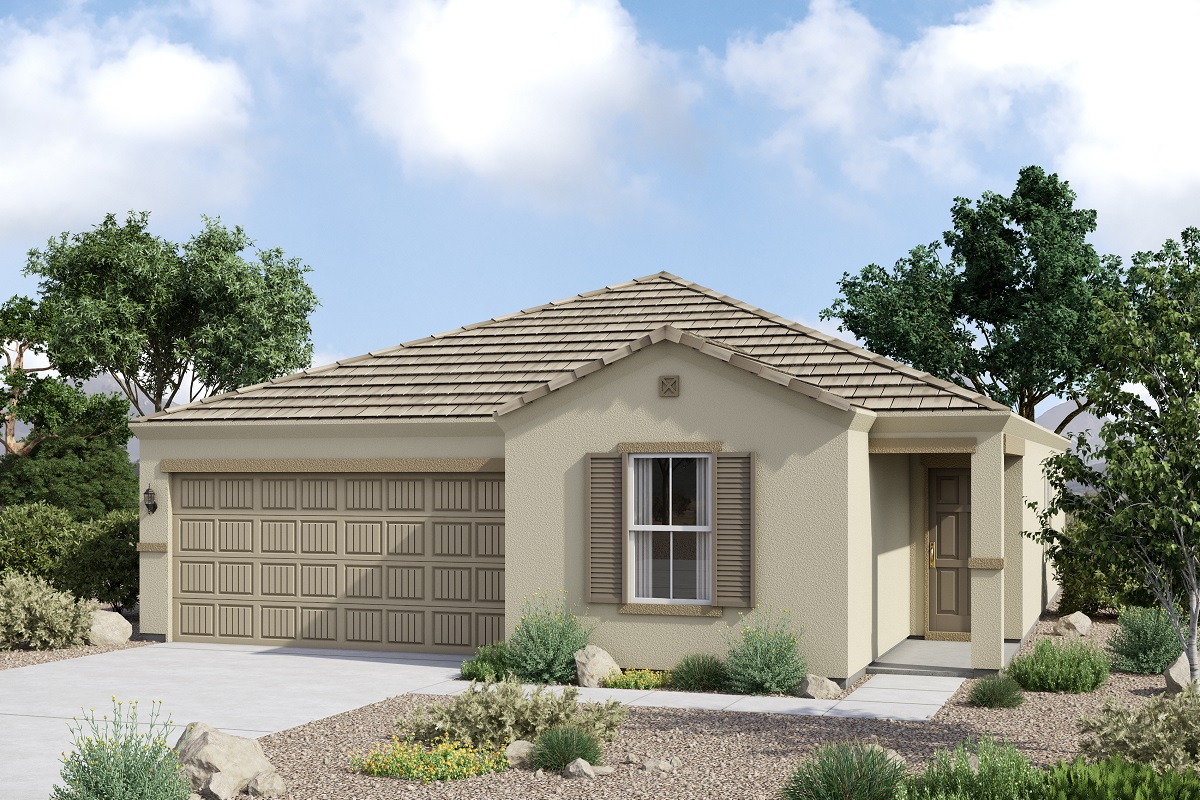 New Homes in Glendale, AZ - Marbella Ranch Plan 1591 Tuscan 'C'
