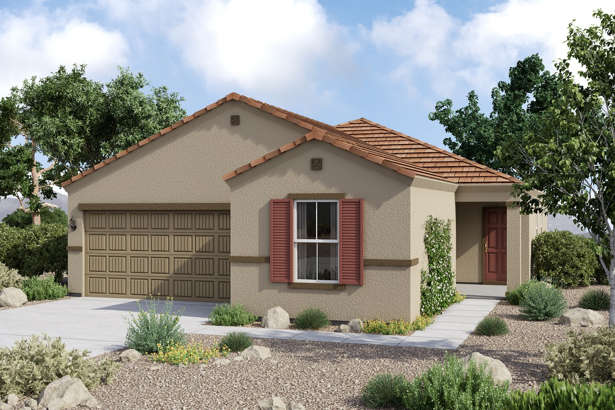 New Homes in Glendale, AZ - Plan 1859 Tuscan 'C'