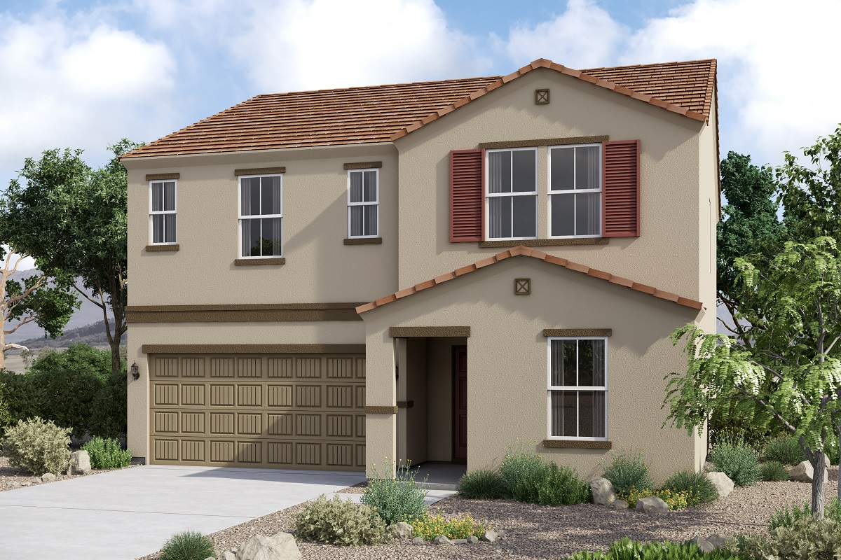 New Homes in Glendale, AZ - Plan 2419 Tuscan 'C'