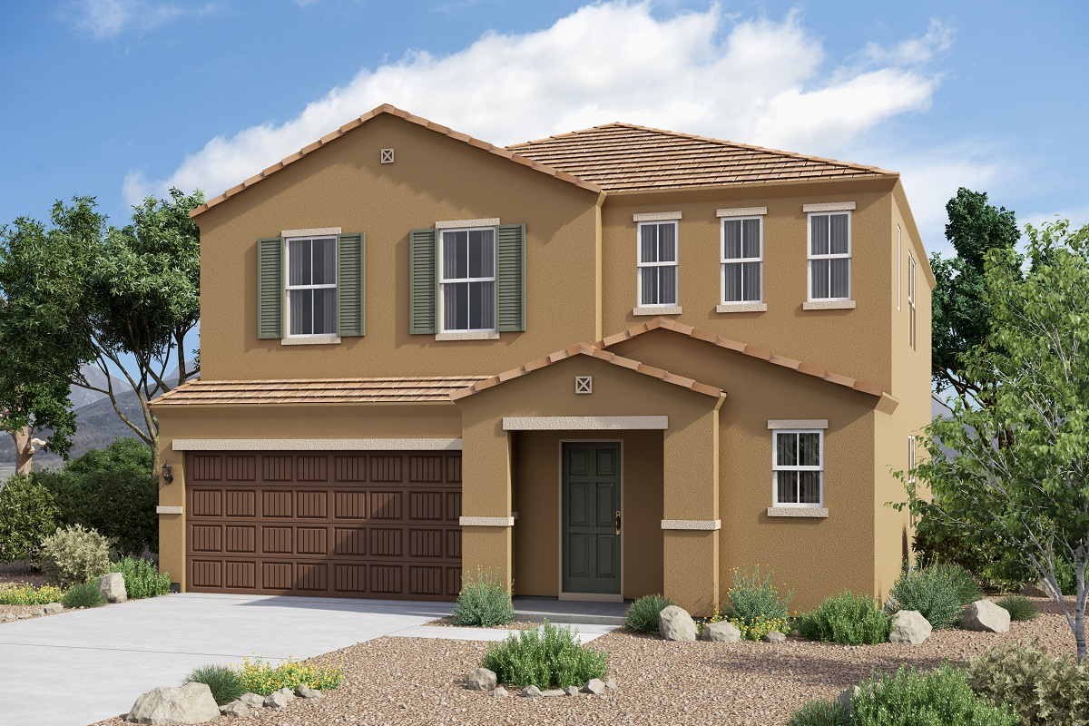 New Homes in Glendale, AZ - Plan 2575 Tuscan 'C'