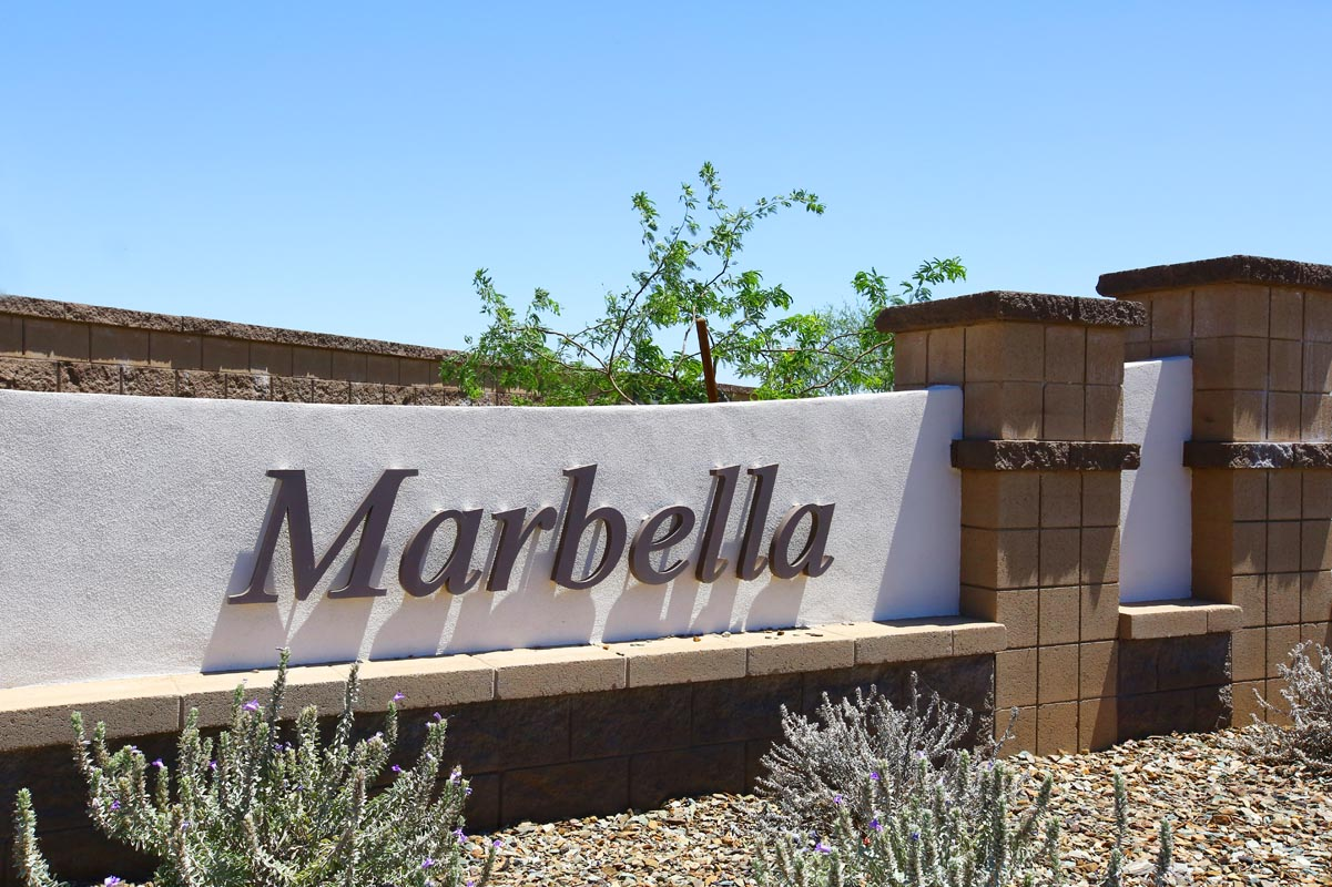 New Homes in Glendale, AZ - Marbella Ranch Marbella Ranch Monument