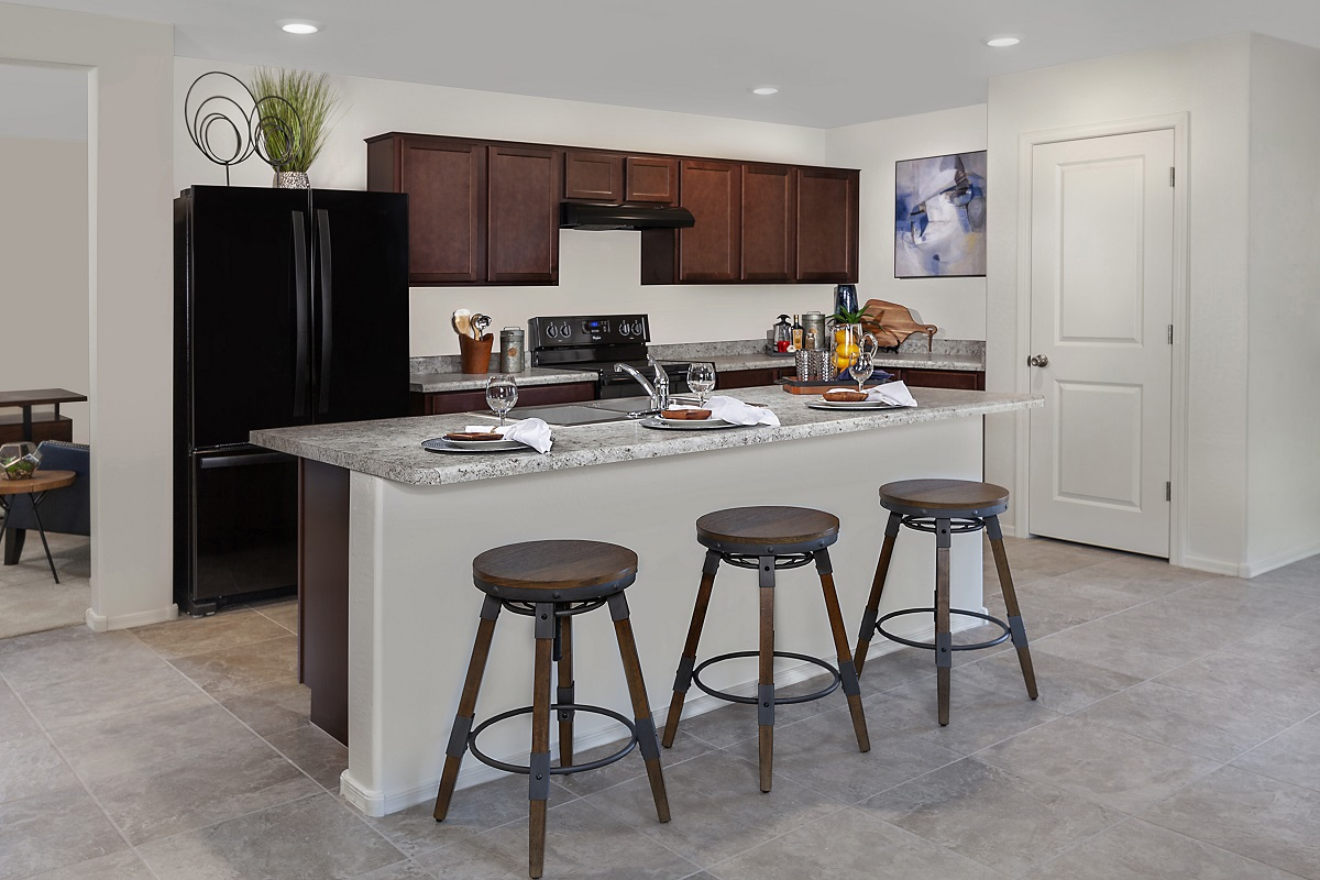 New Homes in Glendale, AZ - Marbella Ranch Plan 1859 Kitchen