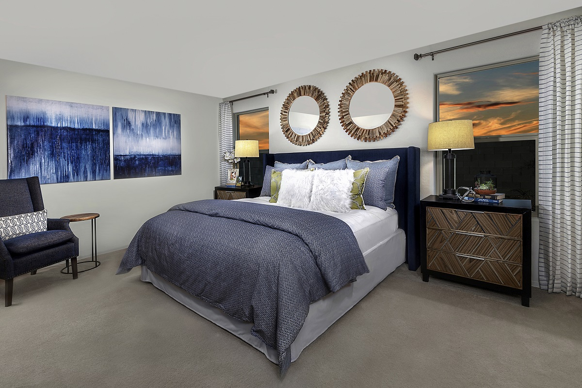 New Homes in Glendale, AZ - Marbella Ranch Plan 1859 Master Bedroom