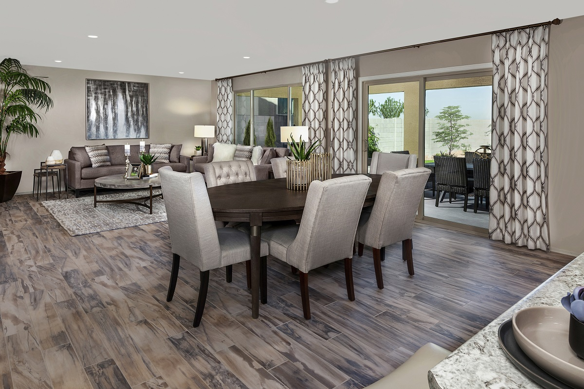 New Homes in Glendale, AZ - Marbella Ranch Plan 2419 Great Room