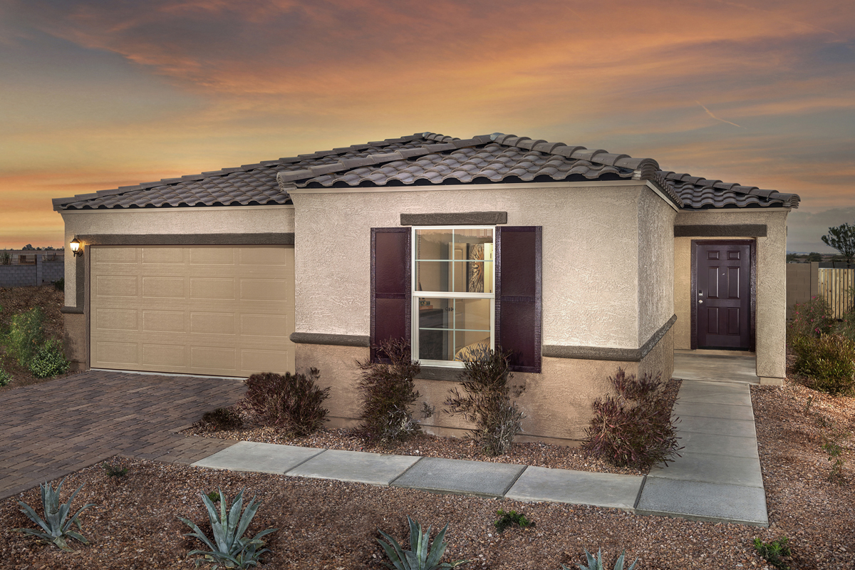 New Homes in Glendale, AZ - Marbella Ranch Plan 1859 Exterior