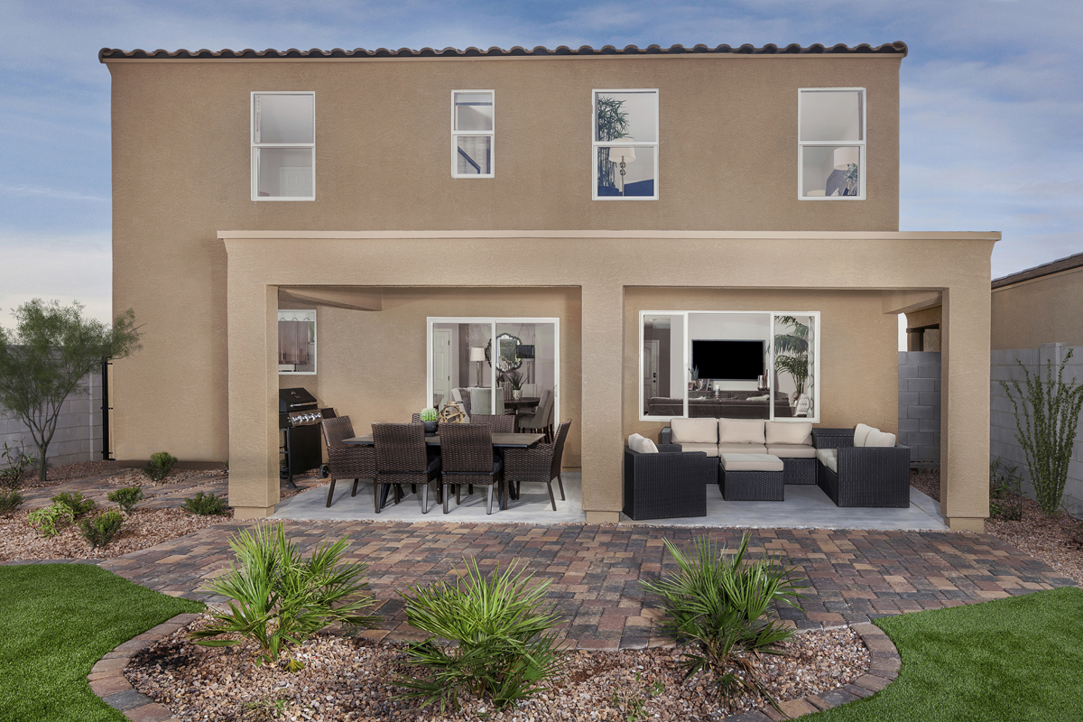 New Homes in Glendale, AZ - Marbella Ranch Plan 2419 Patio