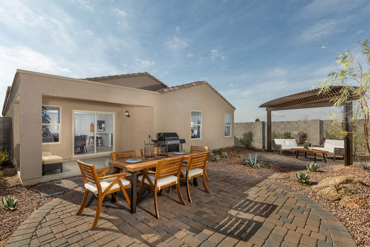 New Homes in Glendale, AZ - Marbella Ranch Plan 1859 Patio