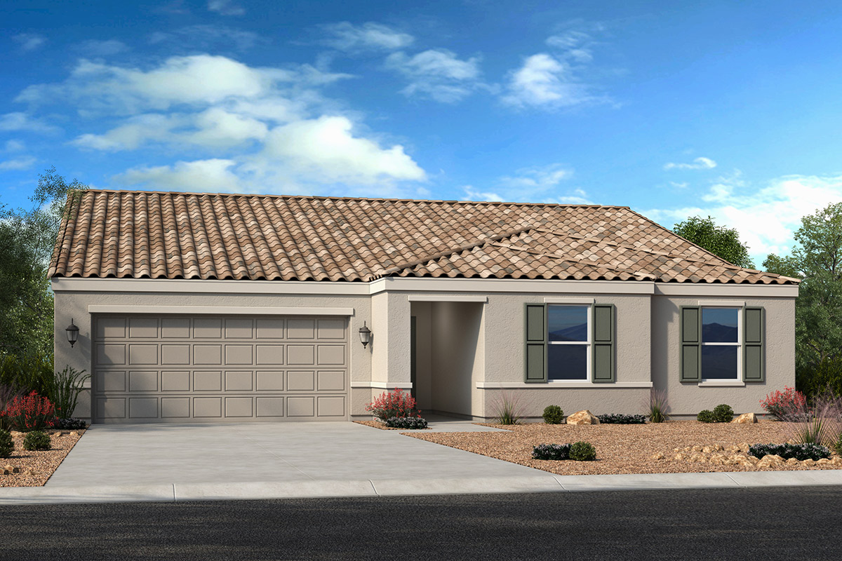 New Homes in Casa Grande, AZ - McCartney Center Collection Plan 2096 Elevation B