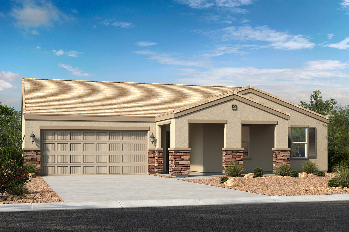 New Homes in Casa Grande, AZ - Elevation C