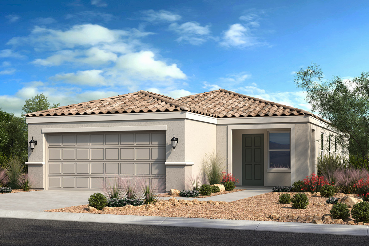 New Homes in Casa Grande, AZ - McCartney Center Collection Plan 1327 Elevation B