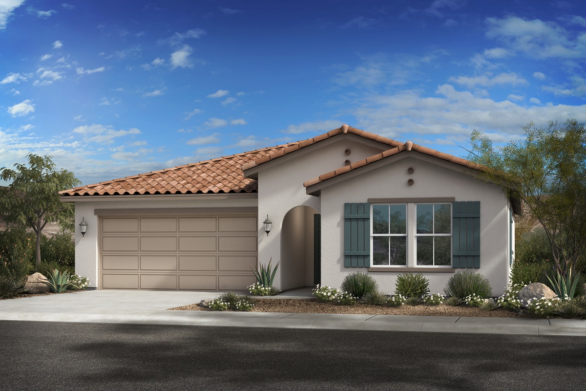 New Homes in Glendale, AZ - Plan 1619 Elevation A