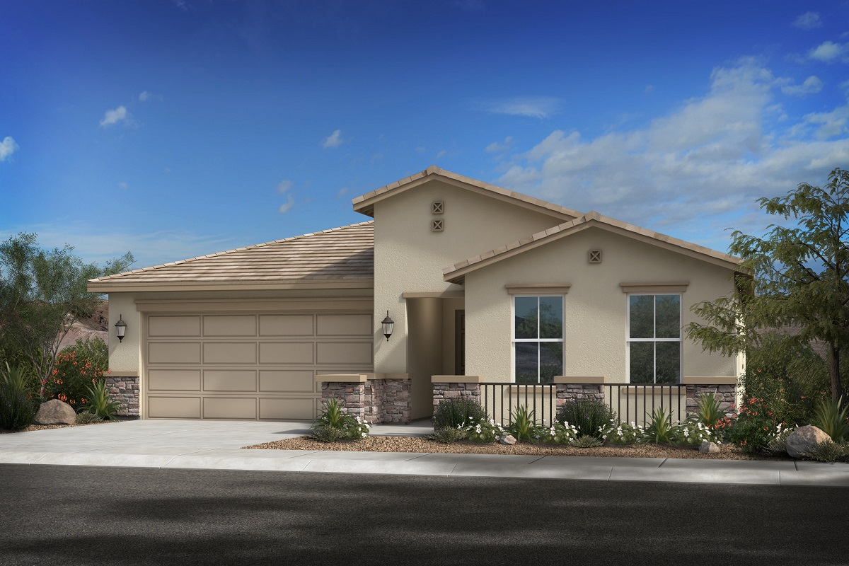 New Homes in Glendale, AZ - Plan 1619 Elevation C