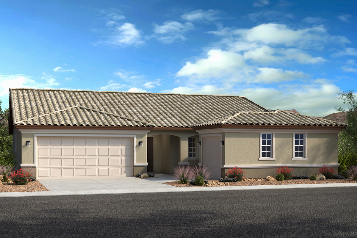 New Homes in Avondale, AZ - Elevation B with swing garage