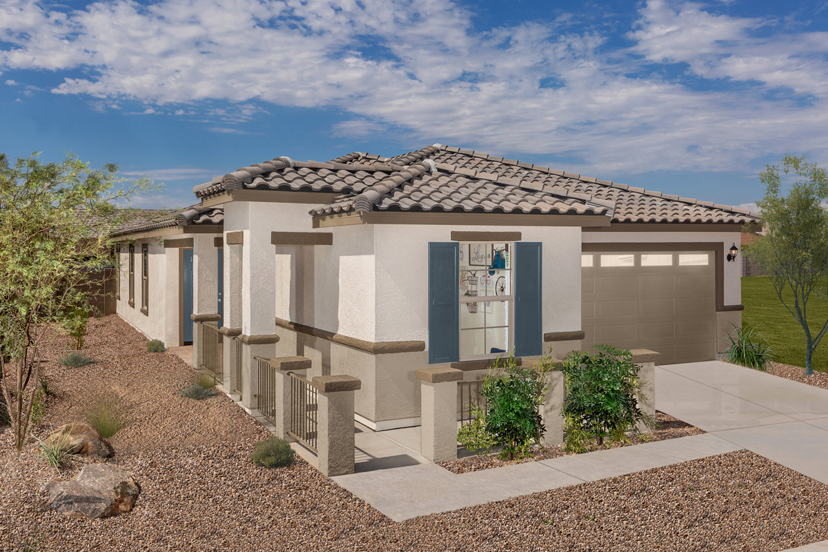 New Homes in Phoenix, AZ - Plan 1841 Modeled