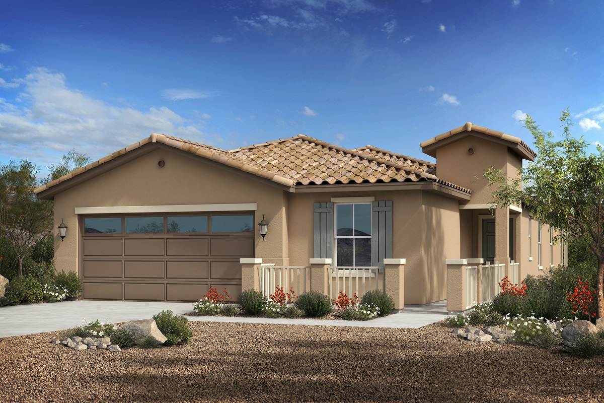 New Homes in Phoenix, AZ - Park Meadows II Plan 1953 Elevation A