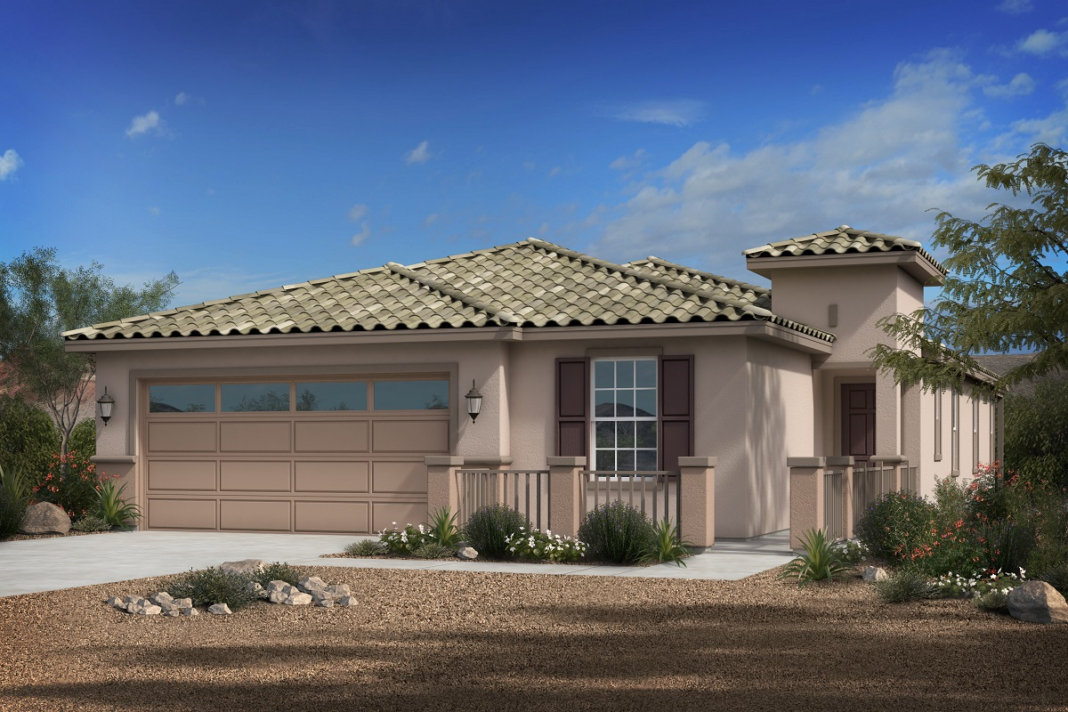 New Homes in Phoenix, AZ - Park Meadows II Plan 1953 Elevation B