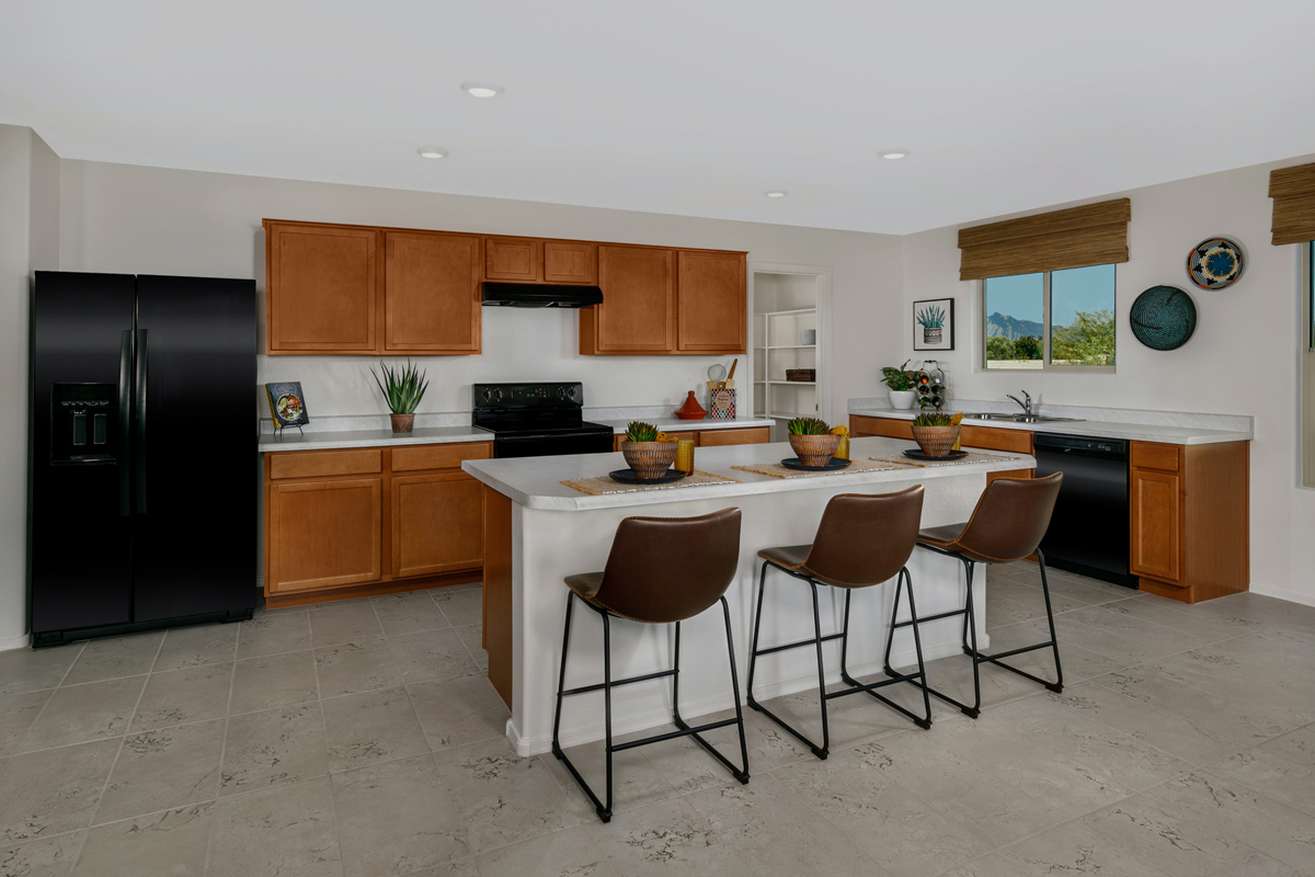 New Homes in Phoenix, AZ - Santolina at South Mountain Plan 1765 Kitchen
