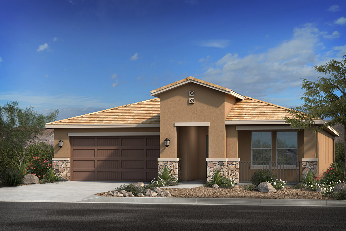 New Homes in Phoenix, AZ - Santolina at South Mountain Plan 2014 Elevation C