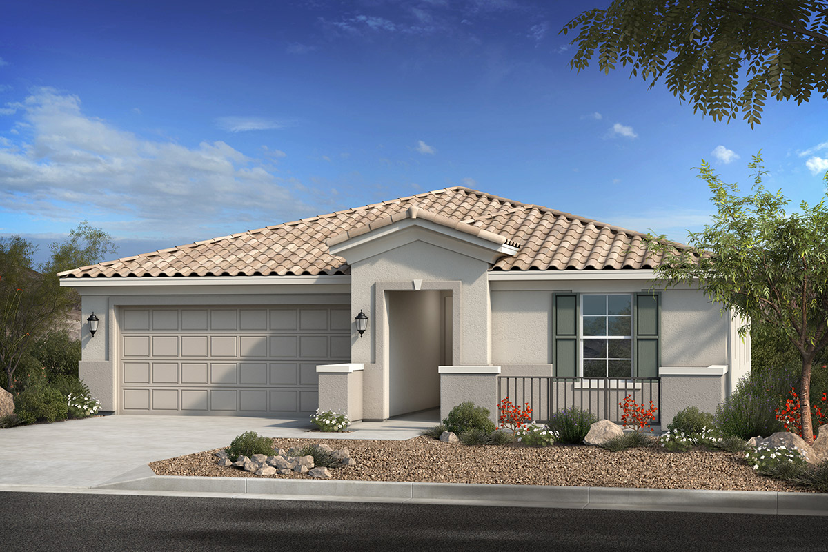 New Homes in Phoenix, AZ - Santolina at South Mountain Plan 2370 Elevation B