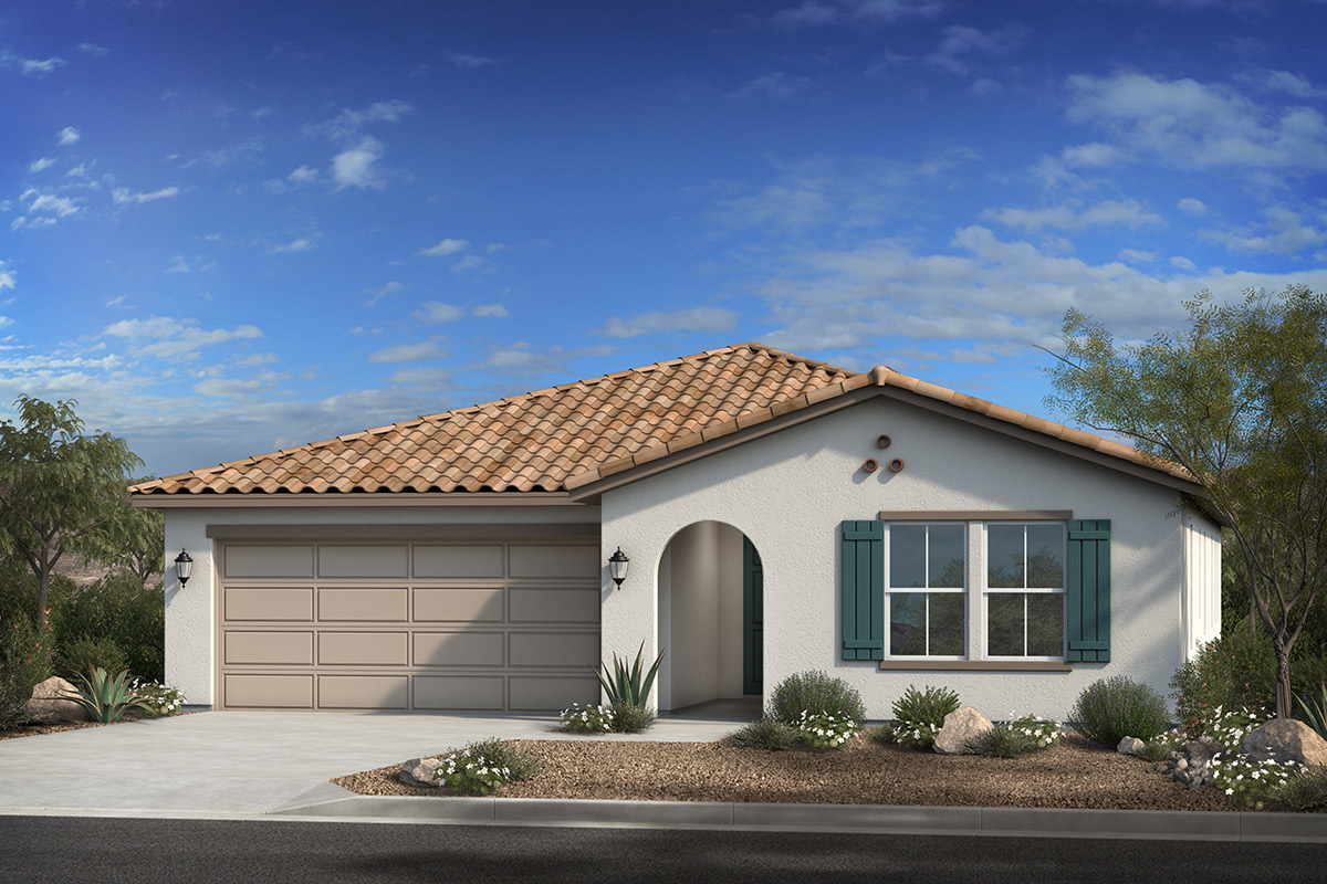 New Homes in Phoenix, AZ - Santolina at South Mountain Plan 2543 Elevation A