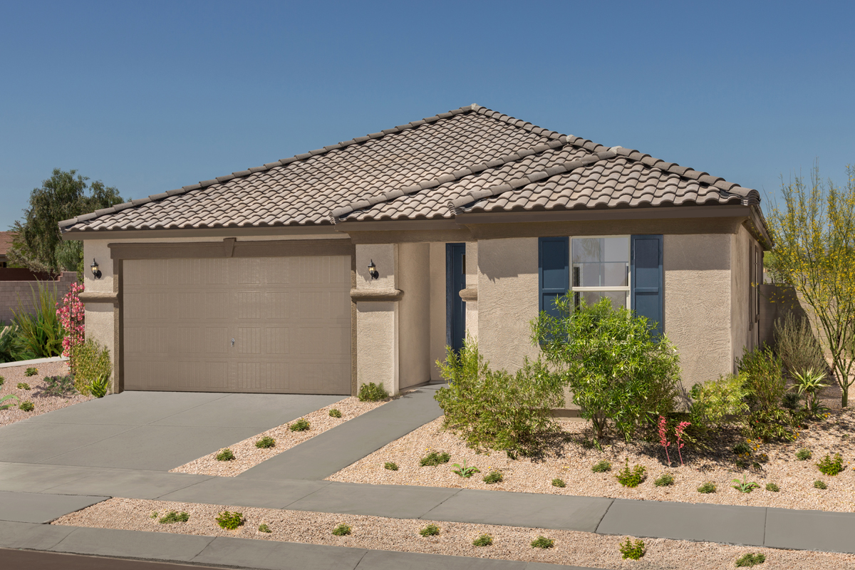Sanverno At Desert Oasis A New Home Community By Kb Home