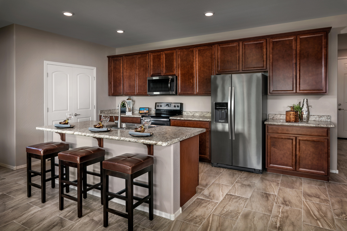 New Homes in Surprise, AZ - Villas at Sycamore Farms Plan 1551 Kitchen