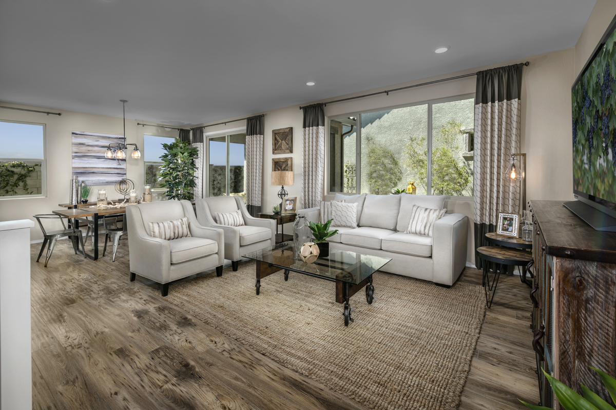 New Homes in Surprise, AZ - Villas at Sycamore Farms Plan 1932 Great Room