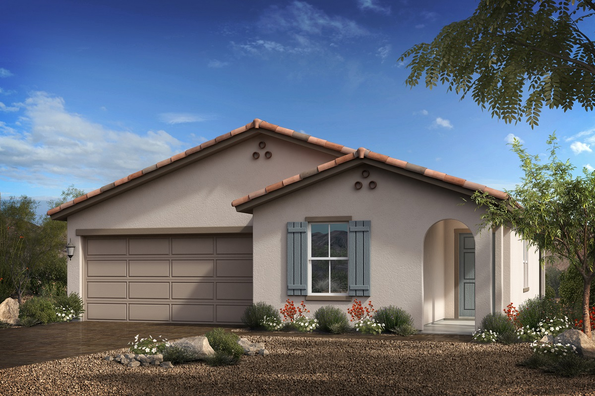 New Homes in Goodyear, AZ - Terra de Oro Plan 1579 - Elevation A