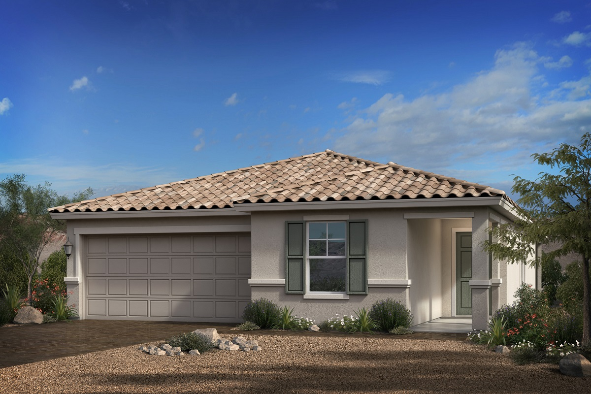 New Homes in Goodyear, AZ - Terra de Oro Plan 1579 - Elevation B