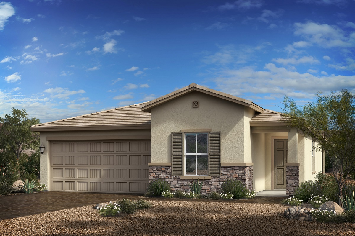 New Homes in Goodyear, AZ - Terra de Oro Plan 1579 - Elevation C
