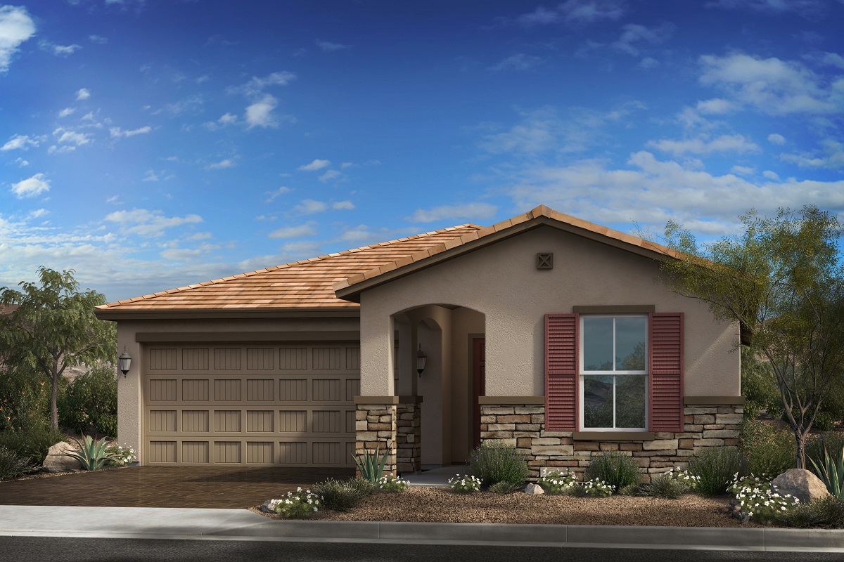 New Homes in Goodyear, AZ - Elevation C