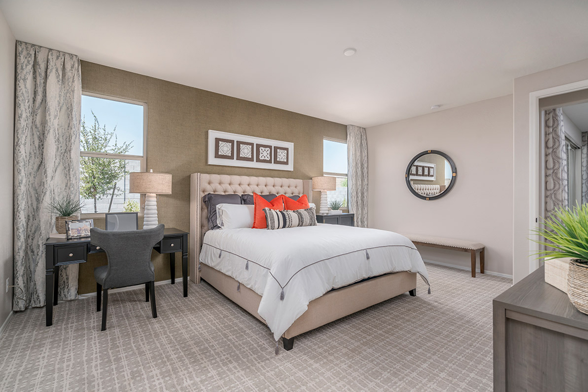 New Homes in Buckeye, AZ - The Traditions at Verrado Plan 1671 Master Bedroom
