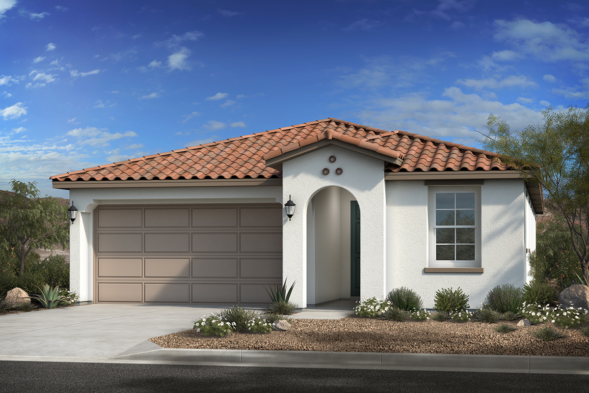 New Homes in Buckeye, AZ - The Traditions at Verrado Plan 1967 Elevation A
