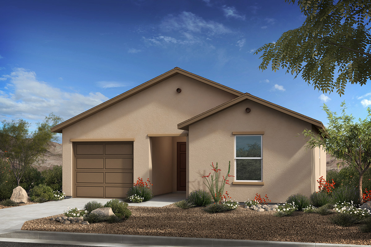 New Homes in Tucson, AZ - Arroyo Reserve Plan 1015 Elevation A