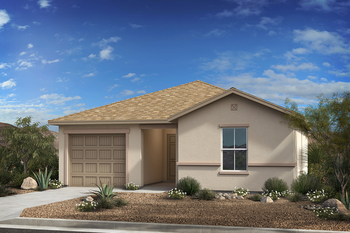New Homes in Tucson, AZ - Arroyo Reserve Plan 1015 Elevation C