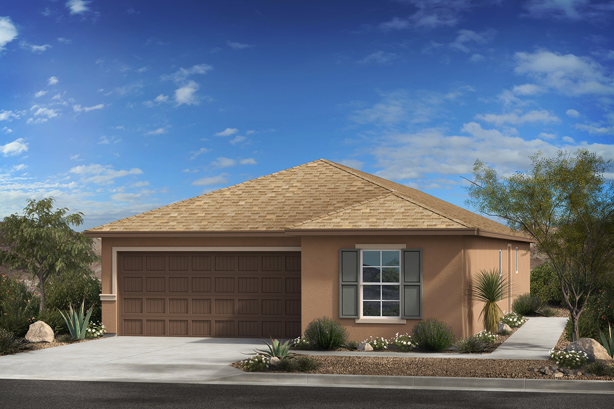 New Homes in Tucson, AZ - Arroyo Reserve Plan 1740 Elevation C
