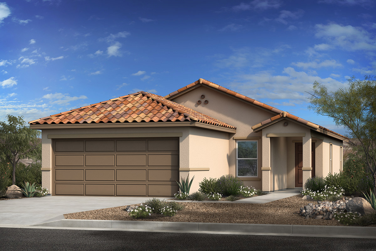 New Homes in Marana, AZ - Ashmore at Gladden Farms Plan 1383 Elevation A