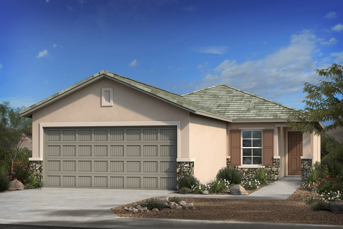 New Homes in Marana, AZ - Elevation C (with Optional Stone)