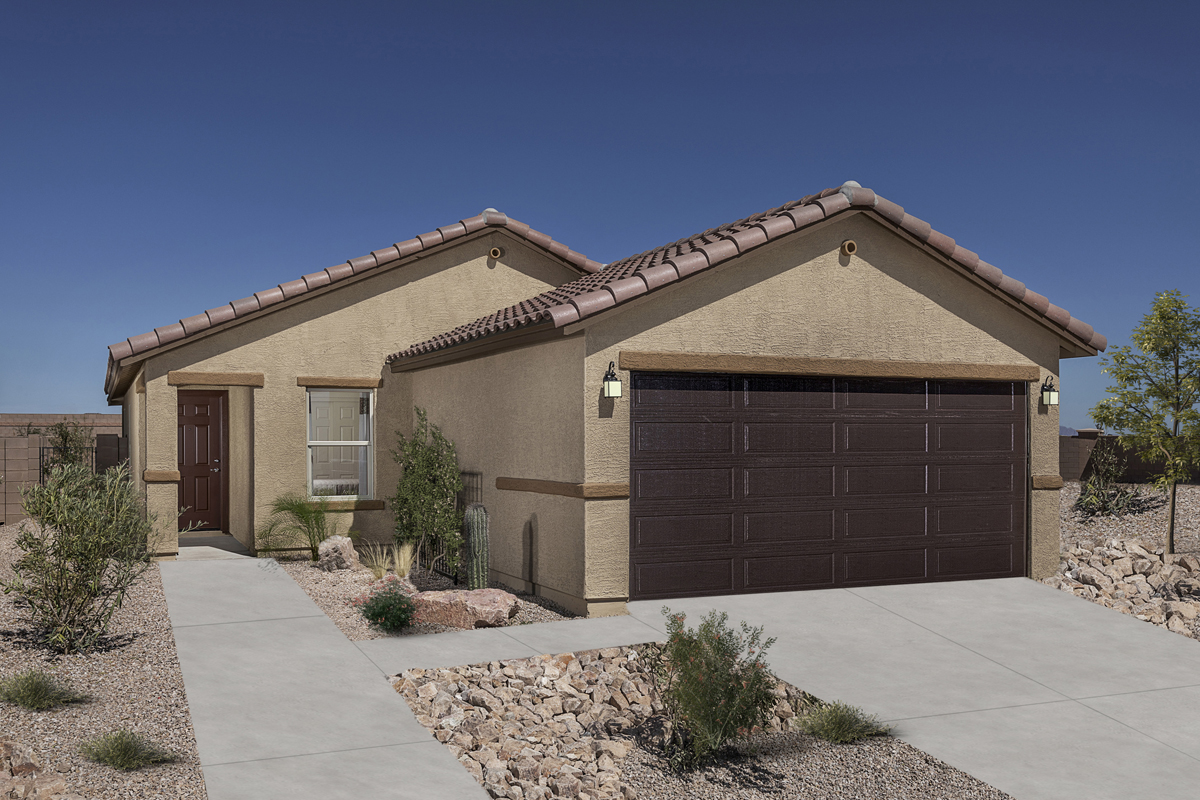 New Homes in Marana, AZ - KB Home at Gladden Farms Plan 1465