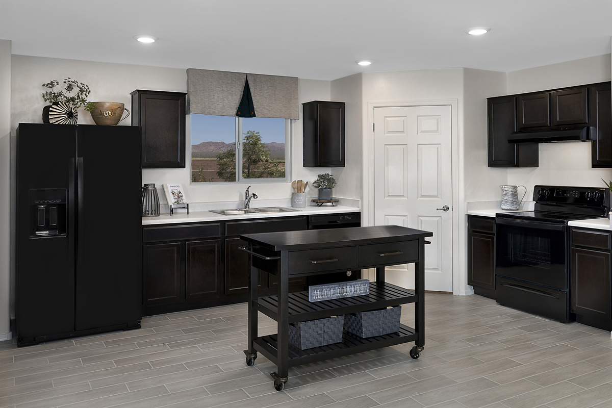 New Homes in Marana, AZ - KB Home at Gladden Farms Plan 1465 Kitchen