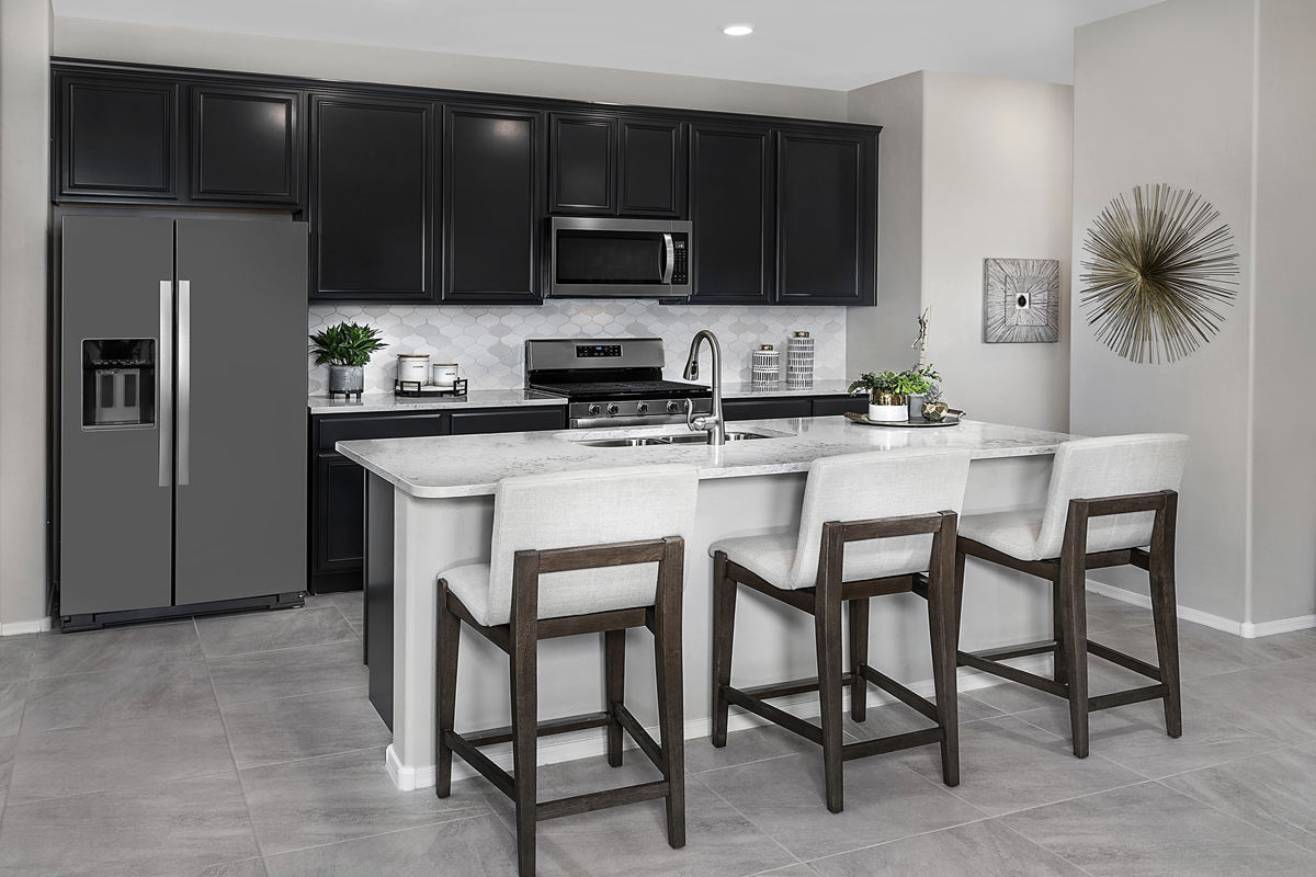 New Homes in Marana, AZ - KB Home at Gladden Farms Plan 1745 Kitchen