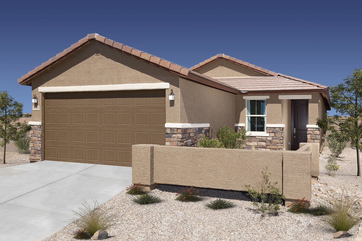 New Homes in Marana, AZ - KB Home at Gladden Farms Plan 1745